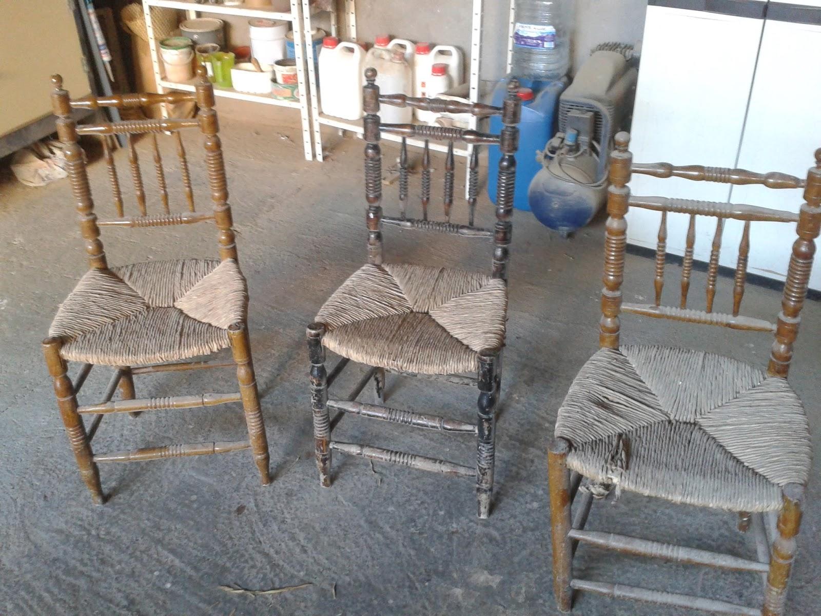 El taller de la madera sillas tipicas - Como tapizar una descalzadora ...