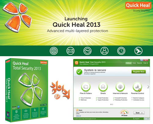 QuickHeal 2013 Quick Heal Total Security 2013 14.00 Download Last Update