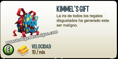 imagen de la descripcion del monstruo kimmels gift