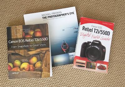 My photography books