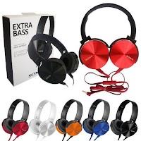 Headphone Sony Mdr Xb 450 Xb450 Xb-450