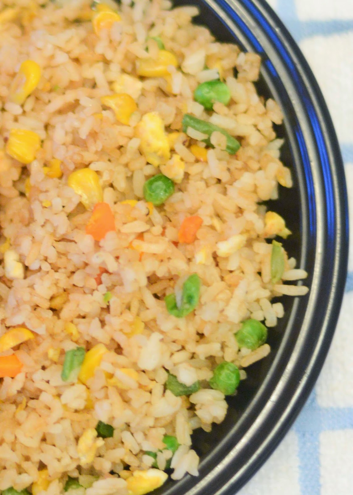 Quick and easy chicken fried rice recipe