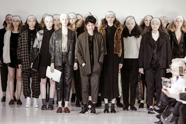 Berenik f/w15 collection, Berenik runway show New York, futuristic fashion, menswear for women, androgyny trend, designer activewear, Swedish fashion designer