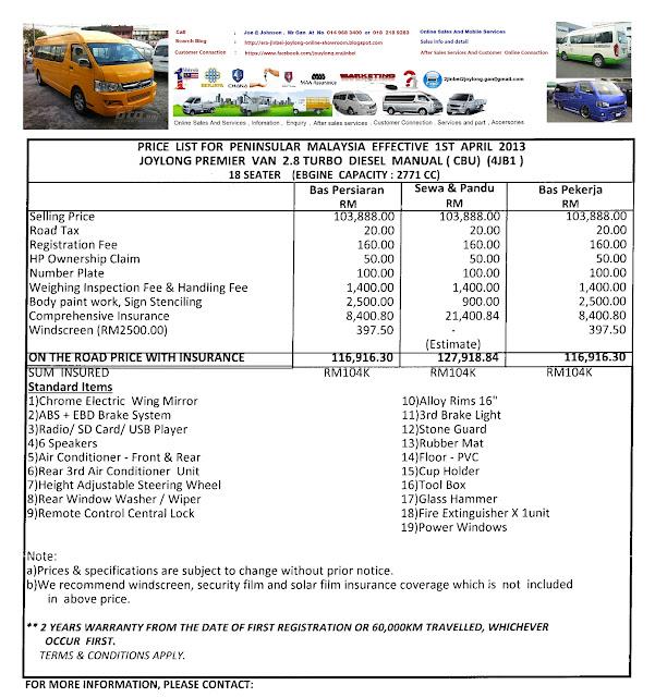 Van Malaysia Van Malaysia Bus Van Camper Van Van For Sale
