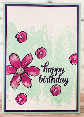 Birthday Gift Set Using Garden In Bloom from Stampin' Up! UK