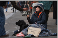 Seek out homeless assistance programs to ease the difficulty of homelessness