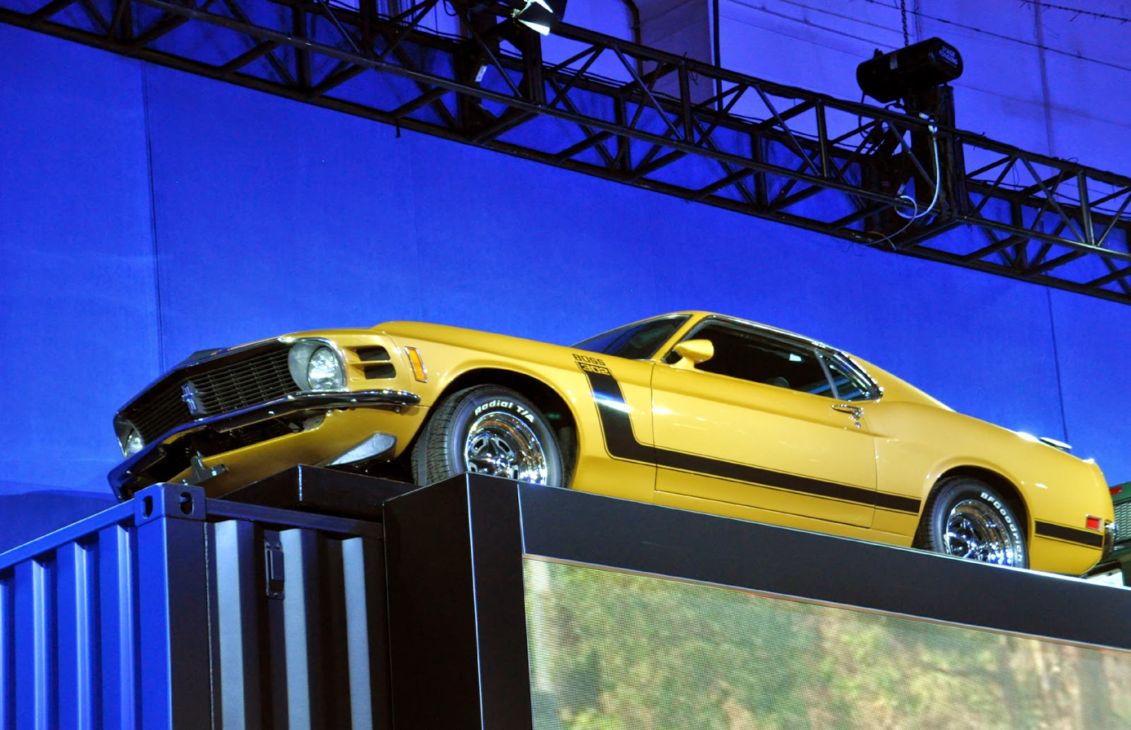Just A Car Guy: Ford had a couple very cool old Mustangs ...