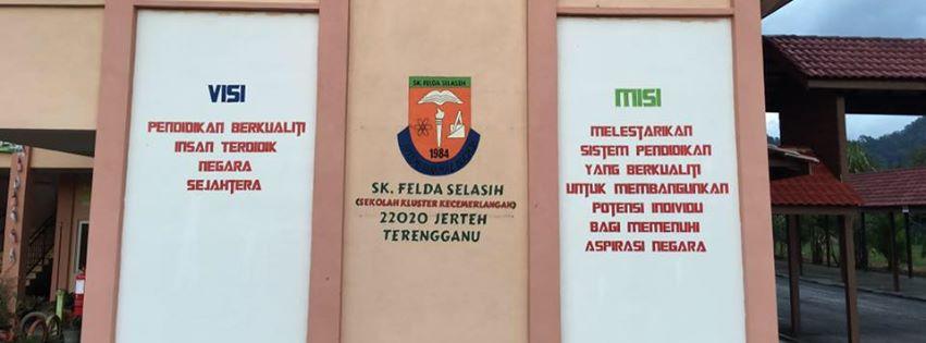 SK Felda Selasih, 22020 Jerteh Terengganu Sekolah Kluster Kecemerlangan