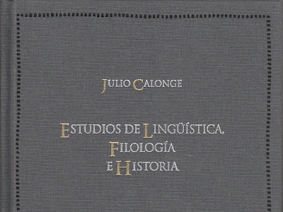 Estudios de la Lingüística, Filología e Historia
