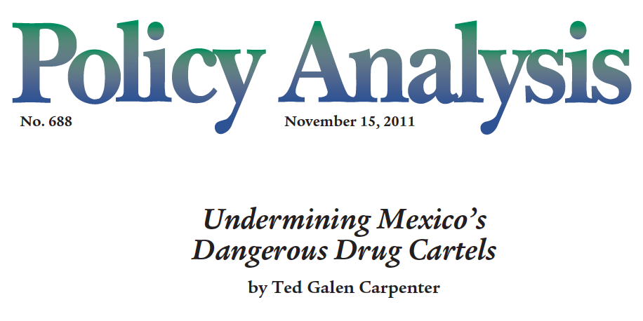 mexico drug war cause and effect