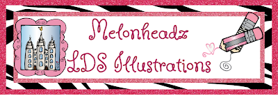Melonheadz LDS illustrating