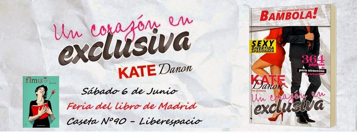 Firma Feria del Libro Madrid 2015