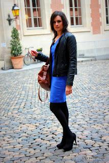 Robe bleu électrique HetM