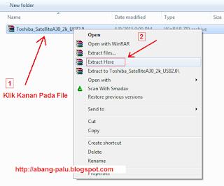 cara membuka file winrar