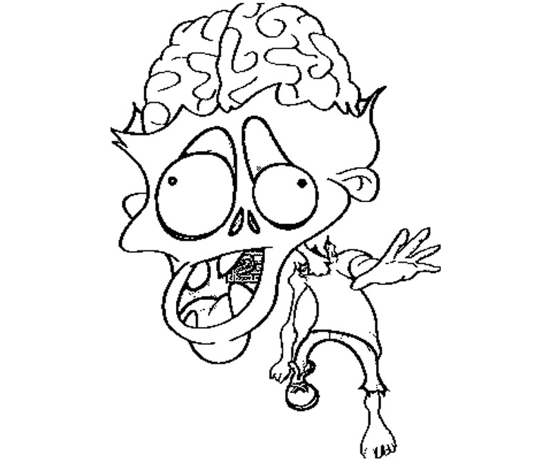 walking dead zombies coloring pages - photo#28