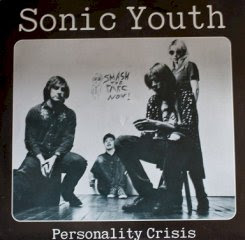 Cover of Sonic Youth 'Personality Crisi' 45