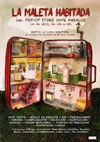 El 14 de abril de 2012, La Maleta Habitada, arte y diseño independiente andaluz