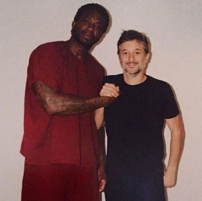 Gucci Mane Rare Photo In Jail with Harmony Korine