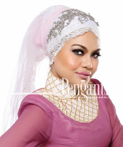 Fashion | Fesyen Tudung Pengantin Terkini