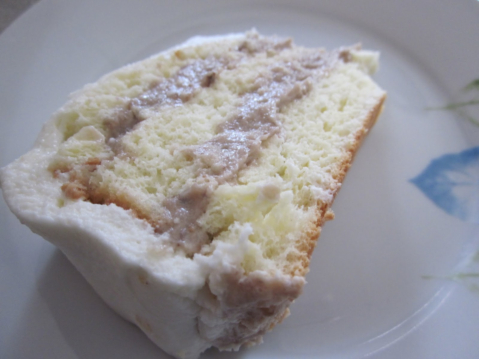 Taro Root Sponge Cake Recipe