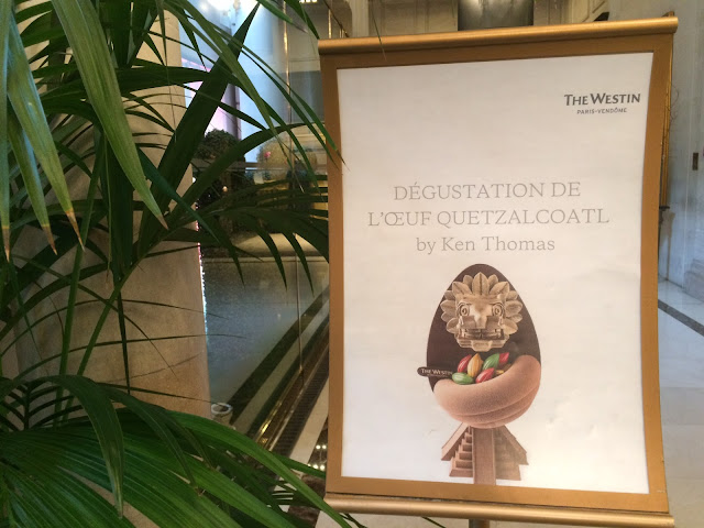 2016 Oeuf de Pâques by Ken Thomas tasting, The Westin Paris-Vendôme