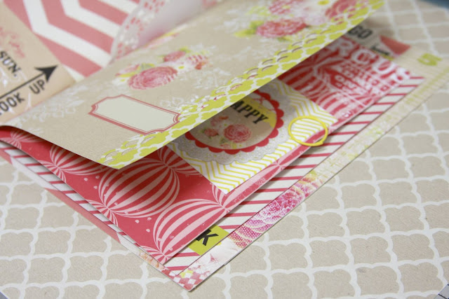 Stitched Binding Mini Album | Monika Wright