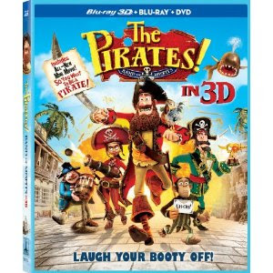 The Pirates Band of Misfits Release Date Blu Ray