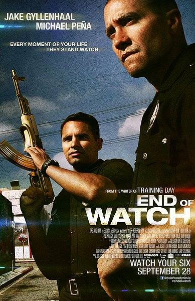 end of watch, movie