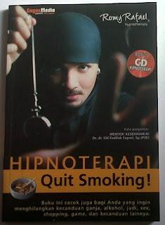 buku hipnoterapi quit smooking by Romy Rafael