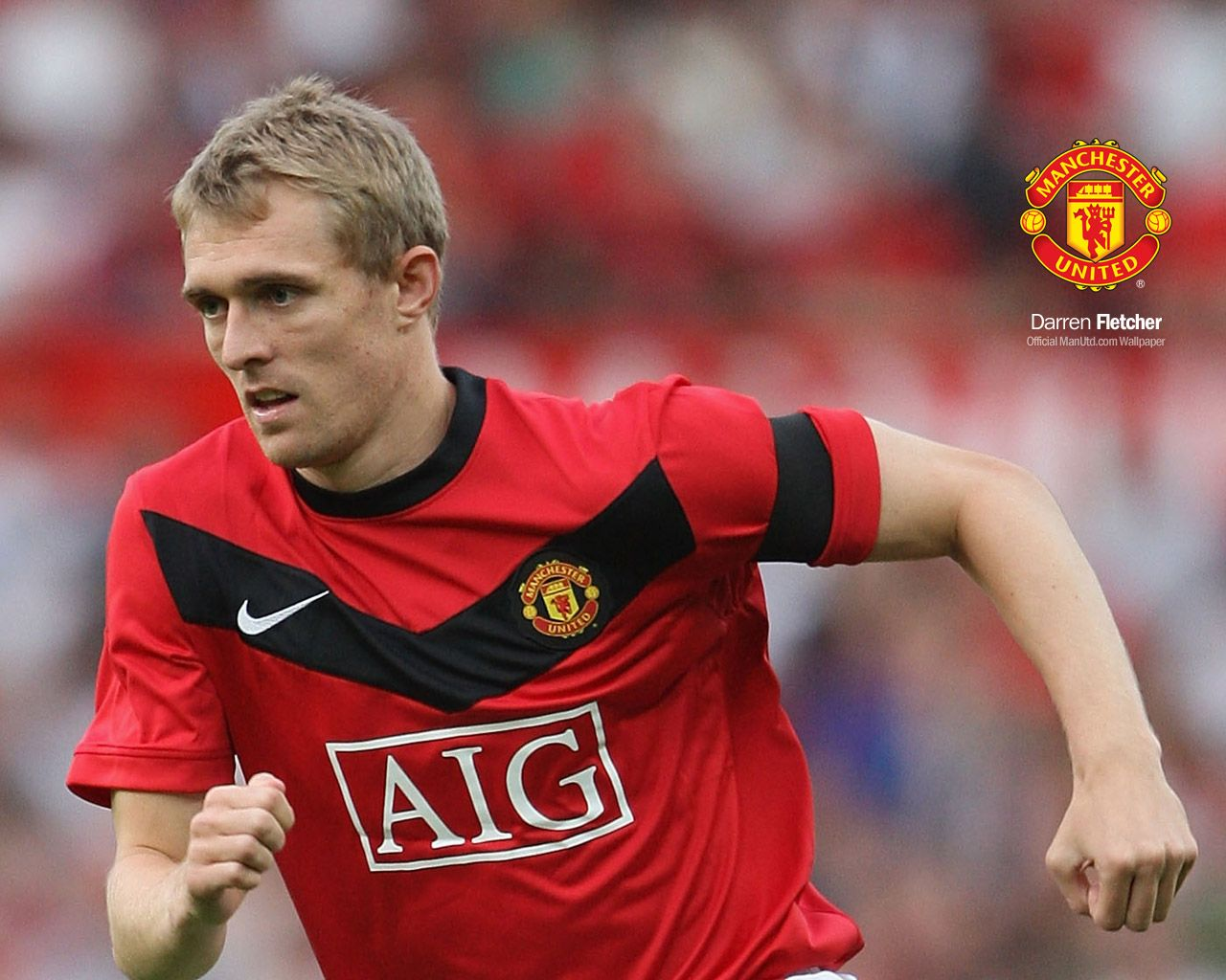 Darren Fletcher - Manchester United Wallpaper
