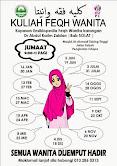 Kuliah Feqh Wanita
