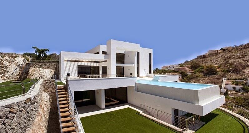 Casa la perla del mediterr neo carlos gilardi for Casa moderna mediterranea