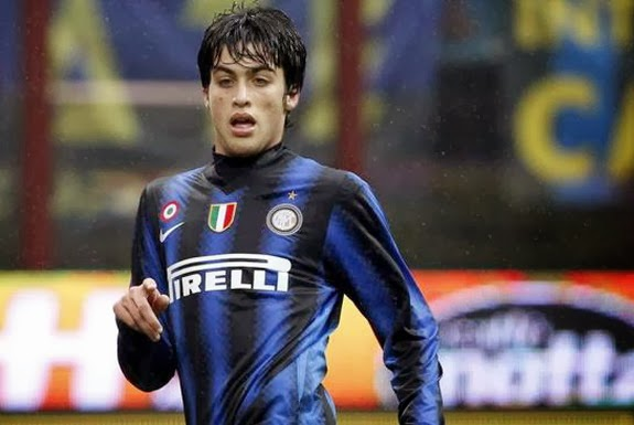 Felice Natalino made his debut in Serie A and the Champions League with Inter Milan aged 18