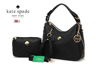 Tas KW Kate Spade Lyndi Embos Semi Premium 7001-1VY Jakarta