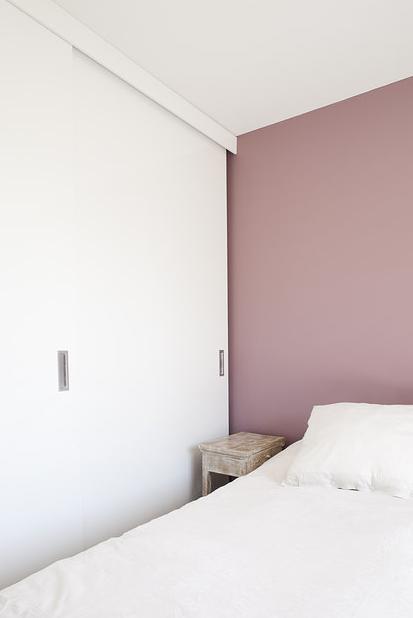 La petite fabrique de r ves amandine gommez va z un appartement aux douces notes industrielles - Chambre vieux rose et marron ...