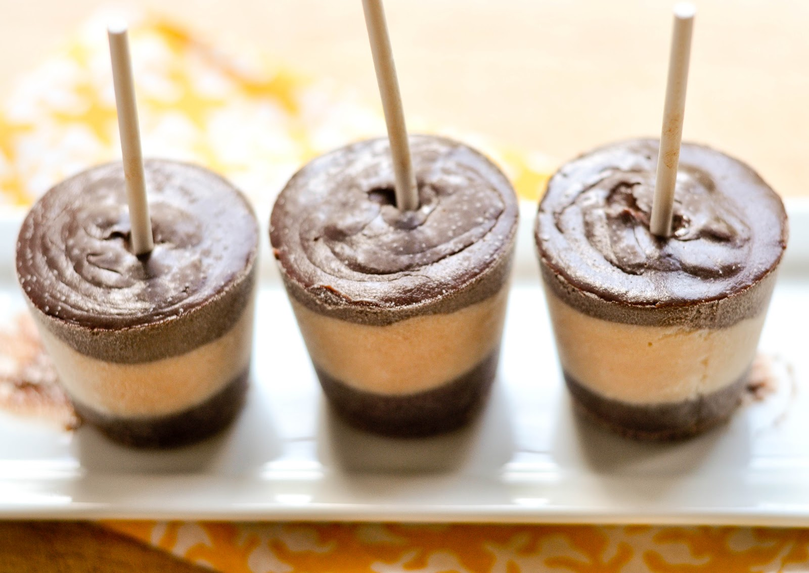 Good Thymes and Good Food: Chocolate and Salted Caramel Pudding Pops
