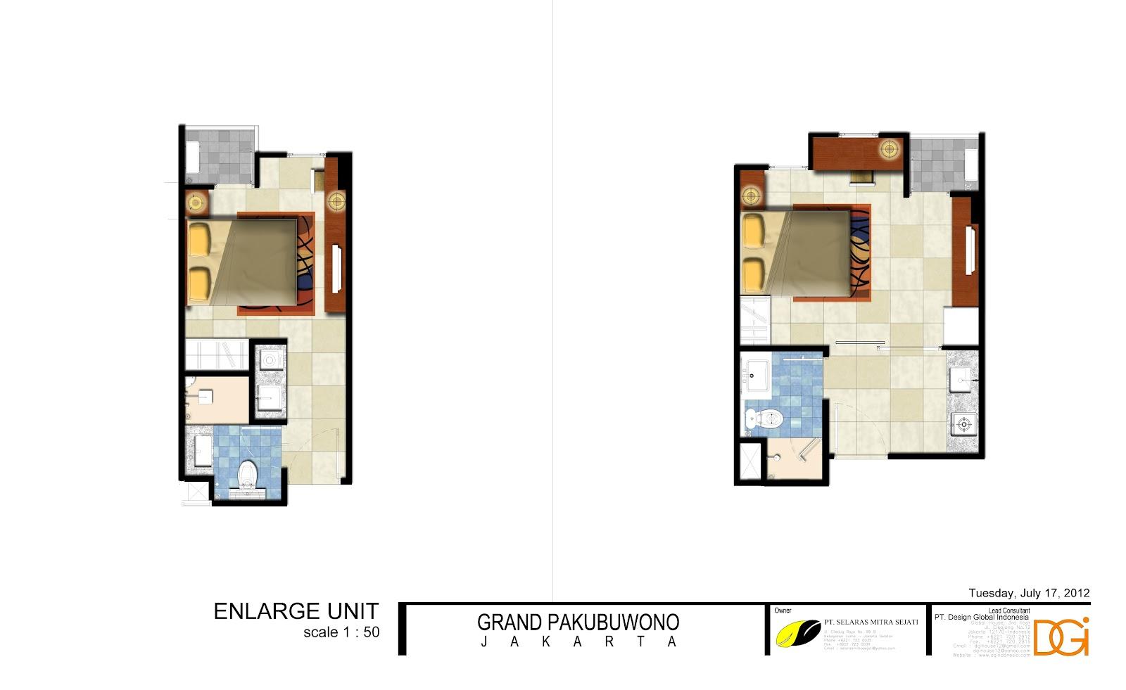 grand pakubuwono terrace apartment. Black Bedroom Furniture Sets. Home Design Ideas
