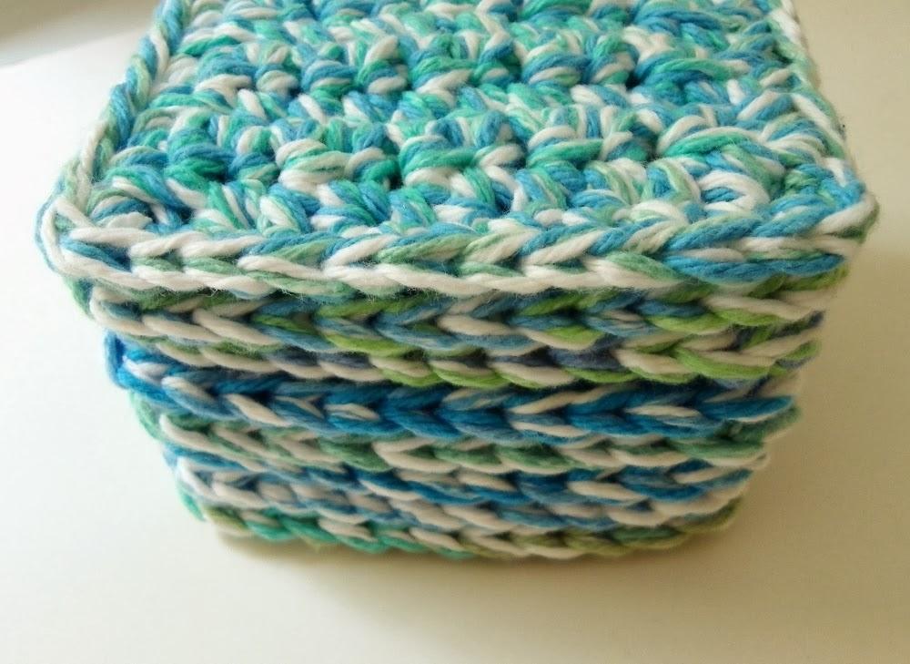 Free Crochet Mug Coaster Pattern : Tater Soup: Free Crochet Coaster or Mug Rug Pattern Thick ...