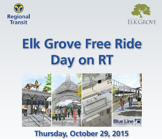 Elk Grove Free Ride Day on RT This Thursday