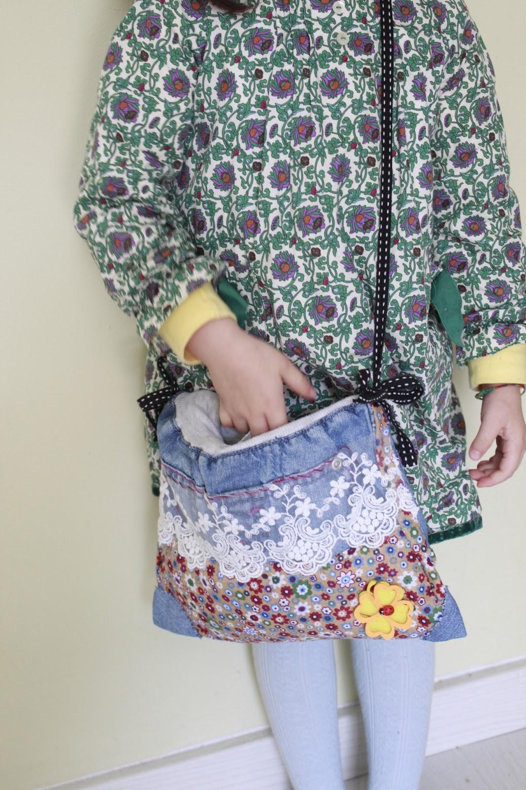 Manualidades en casa bolso hecho a mano totalmente - Manualidades patchwork bolsos ...