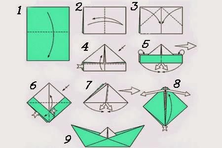 Схема что можно сделать из бумаги своими