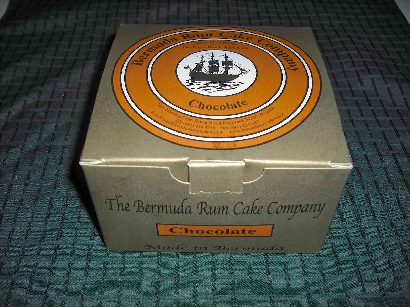 The Bermuda Rum Cake Shop