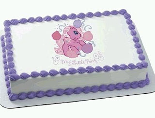 My Little Pony Kids Party cakes