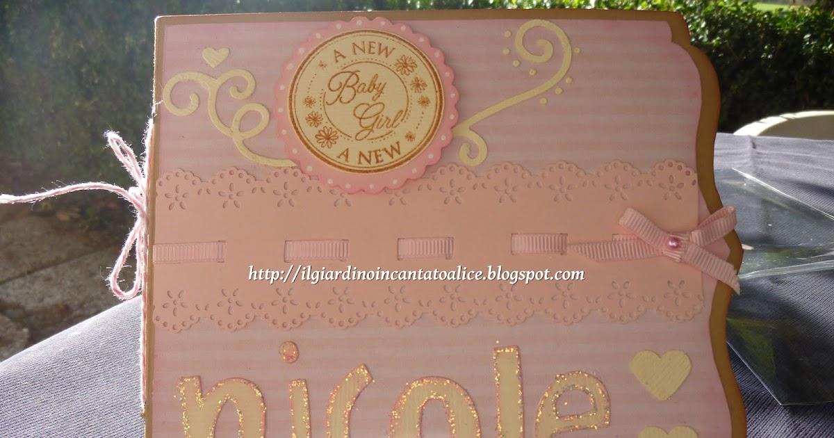 Il giardino incantato di alice minialbum little girl - Il giardino di alice ...