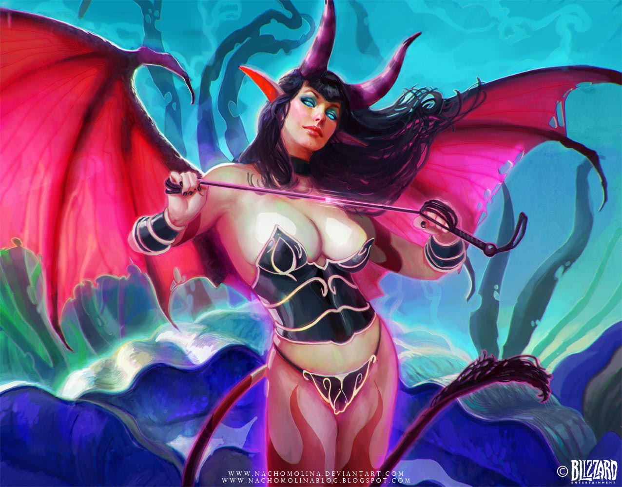 Jizzart warlock and succubus porn photos