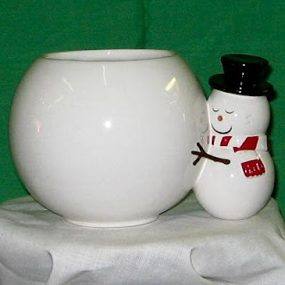 Send A Hug Snowman Ceramic