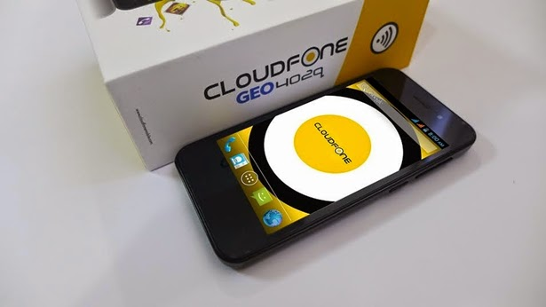 Cloudfone GEO 402q: Specs, Price and Availability