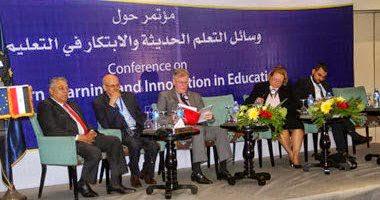 مؤتمر وسائل التعلم الحديثة والابتكار فى التعليم _Conference on the means of modern learning and innovation in education in #Egypt