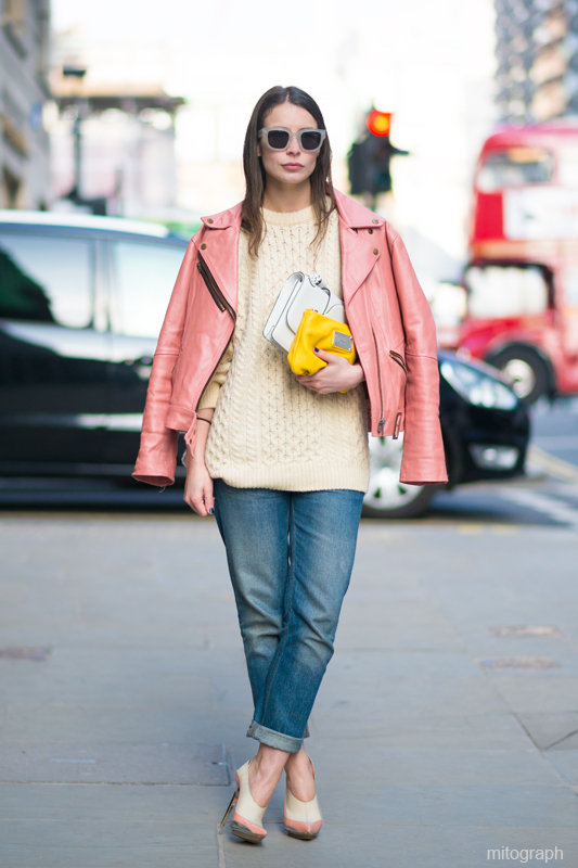 irina lakicevic christopher kane london fashion week 2013 2014 fall winter streetstyle