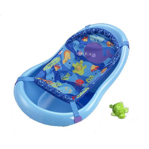 Want My Kids\' Stuff?: Infant Bathtub w/ Mesh Sling
